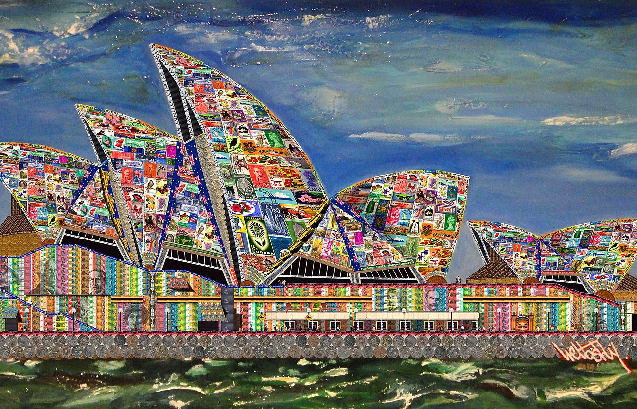 Bennelong Point Celebrates, Sydney Australia